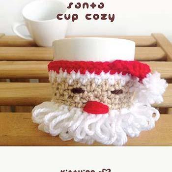 Crochet Pattern - Santa Claus Fruit..