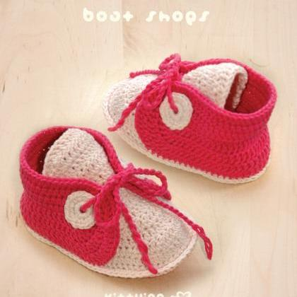 Free Crochet Pattern For Baby Boat Shoes : CROCHET PATTERN Baby Boat Shoes Baby Crochet Sneaker ...