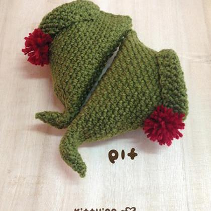 Free Crochet Pattern Baby Ear Warmer : Crochet PATTERN Elf Baby Booties For Christmas Holiday ...