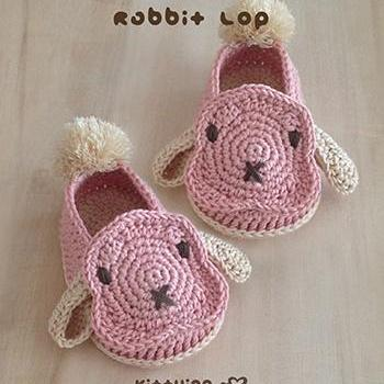 Crochet Baby Pattern Rabbit Baby Bo..