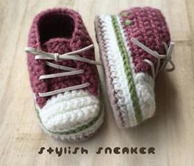 Crochet Toddler Pattern Stylish Toddler Sneakers Crochet Patterns Toddler Shoes Crochet Booties Crochet Pattern Baby Sneakers Baby Shoes