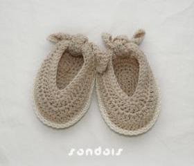 Baby Sandals Crochet PATTERN, SYMBOL DIAGRAM (pdf)