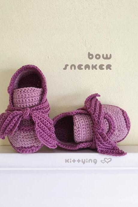 Crochet Baby Pattern Crochet Baby Sneakers Pattern Fenty Bow Sneakers Crochet Baby Shoes Crochet Booties Crochet Pattern Newborn Rihanna Sneakers Newborn Shoes Baby Sneakers Crochet Baby Shoes Crochet Booties Crochet Pattern Newborn Sneakers Newborn Shoes Adidas Baby Booties Crochet PATTERN - Chart & Written Pattern