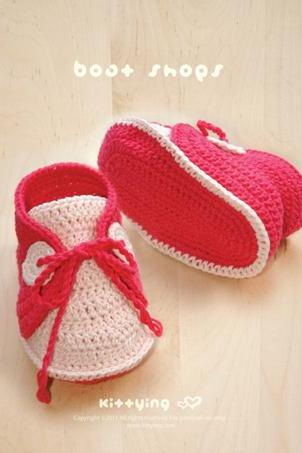 CROCHET PATTERN Baby Boat Shoes Baby Crochet Sneaker Crochet Shoe Pattern Crochet Newborn Booties