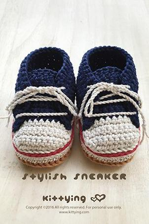 Crochet Baby Pattern Stylish Baby Sneakers Crochet Patterns Baby Shoes Crochet Booties Crochet Pattern Newborn Sneakers Newborn Shoes Red
