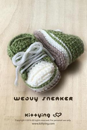 Crochet Baby Pattern Weavy Baby Sneakers Crochet Pattern Baby Shoes Crochet Baby Booties Crochet Pattern Newborn Sneakers Baby Ankle Boots Baby Booties