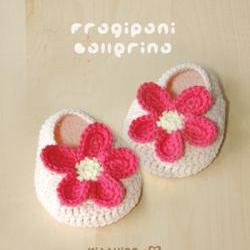 Frangipani Ballerina Crochet PATTERN, Chart & Written Pattern by kittying