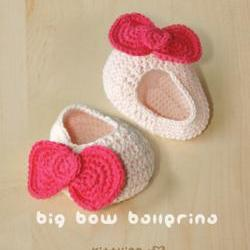 Big Bow Ballerina Crochet PATTERN, SYMBOL DIAGRAM (pdf) by kittying